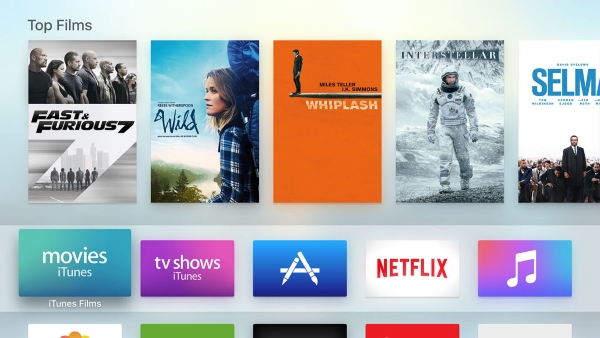 Apple TV - Customise the Home screen