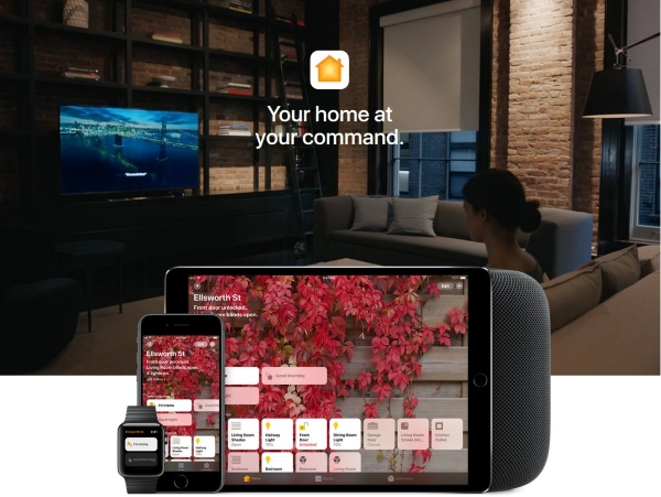 Apple TV smart home
